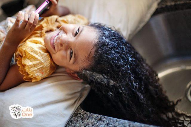 كيفية جعل الشعر ناعم للاطفال