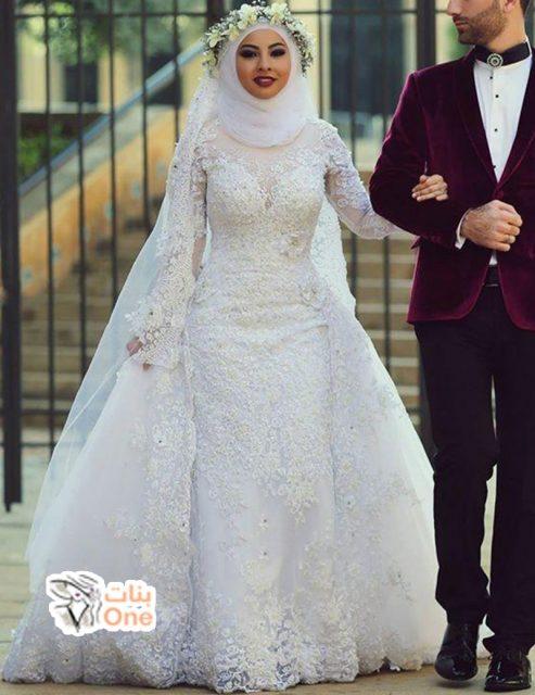 فساتين زفاف محجبات لعروس 2020