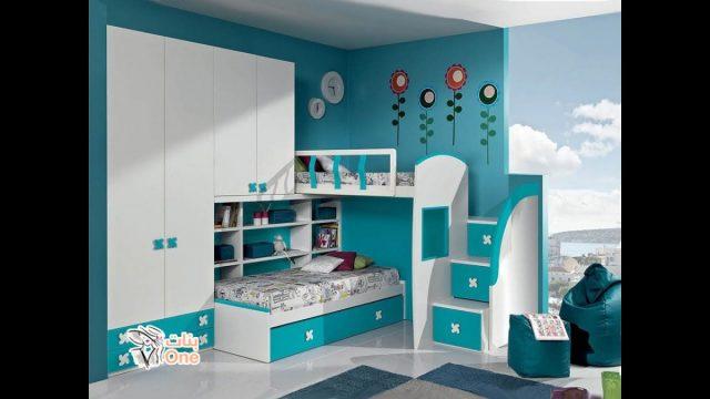غرف نوم اطفال 2020 - أحدث تصميمات مودرن لغرف الأطفال لعام 2020