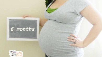 مراحل نمو الجنين في الشهر السادس