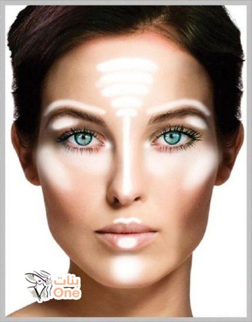 طريقة نحت الوجه بالمكياج في 4 خطوات