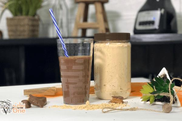 طريقة عمل مشروب الفول السودانى بالحليب
