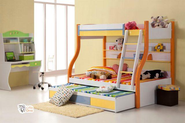 احدث غرف اطفال بسريرين 2020