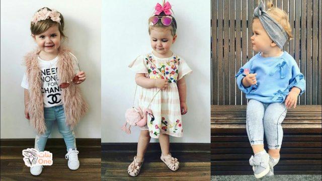 ملابس اطفال 2020 بنات وأولاد صور بنات One
