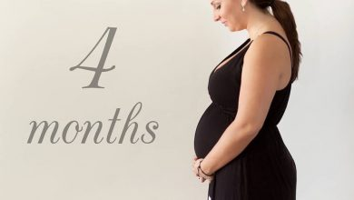 الحمل فى الشهر الرابع ومراحل نمو الجنين