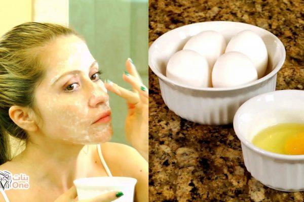 أضرار بياض البيض للبشرة