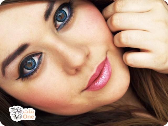 طريقة مكياج العيون الكبيرة الدائرية