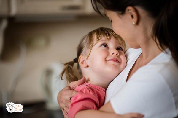 موضوع عن الام قصير