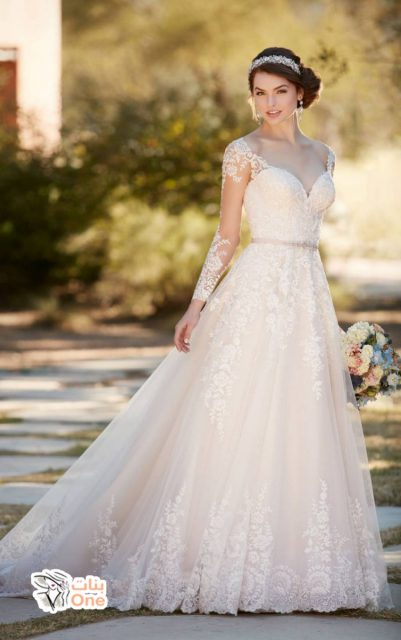 صور فساتين زفاف فخمة لعروس 2020