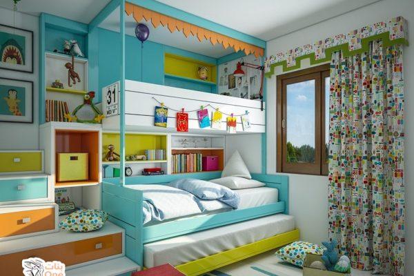 غرف نوم اطفال مودرن بأفكار جديدة