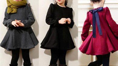 ملابس بنات اطفال شتاء 2020