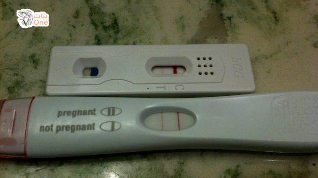 سبب ظهور اختبار الحمل المنزلي خط خفيف