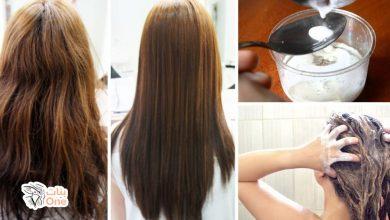 وصفه لتنعيم الشعر من أول استعمال