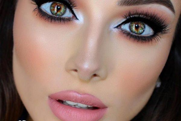 انواع مكياج العيون الضيقة