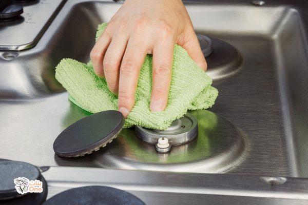 طرق تنظيف البوتاجاز شديد الاتساخ بأقل مجهود