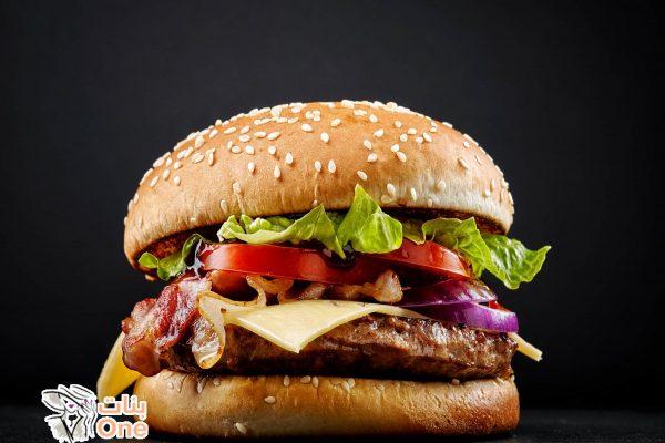 طريقة عمل برجر اللحم
