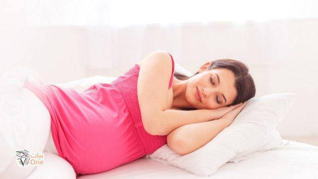 النوم على البطن للحامل.. تعرفي على أضراره