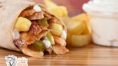 طريقة عمل شاورما الدجاج مثل المطاعم السورية