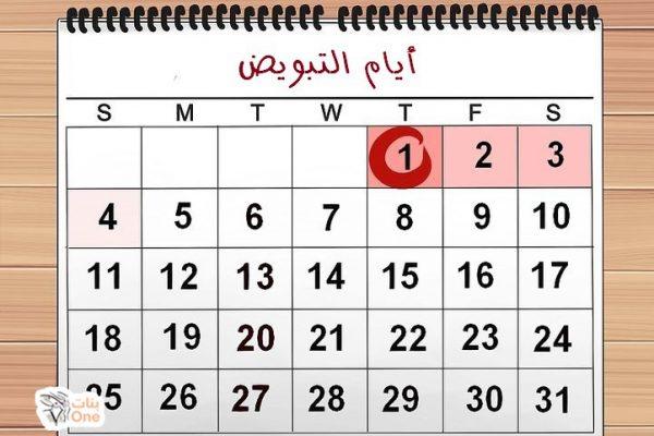 جدول التبويض وكيفية حساب أيام التبويض لحدوث الحمل