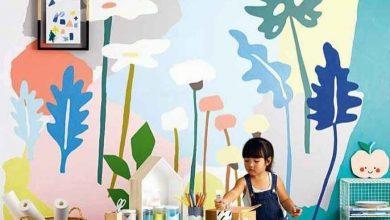 صور وأفكار رسومات على الحائط لغرف الاطفال
