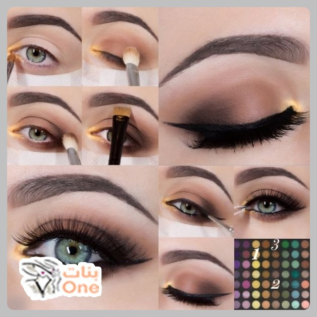 طريقة وضع ظلال العيون للمبتدئات خطوة بخطوة