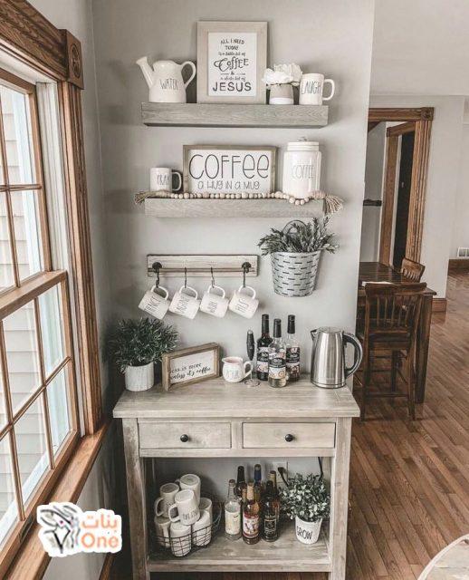 ركن قهوة ايكيا وأفكار مميزة لتصميمه بنفسك في منزلك