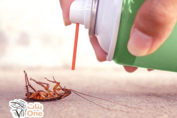 أفضل طرق التخلص من الصراصير