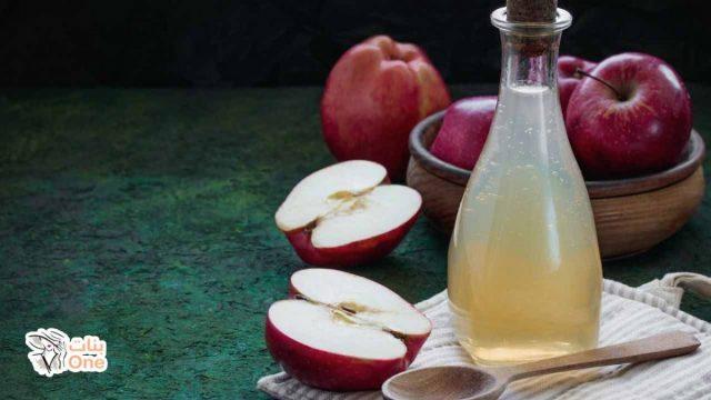 فوائد خل التفاح للشعر وأهم الوصفات الطبيعية التي يدخل في تركيبها