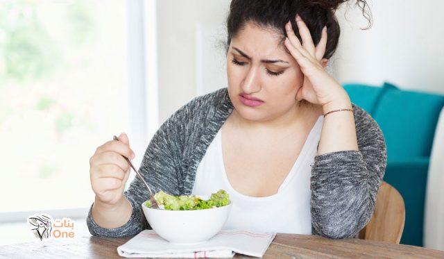 أسباب عدم نزول الوزن مع الالتزام بالحميه
