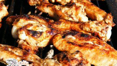 كيف اشوي الدجاج على الفحم