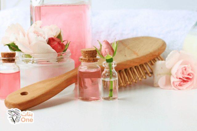 فوائد ماء الورد للشعر