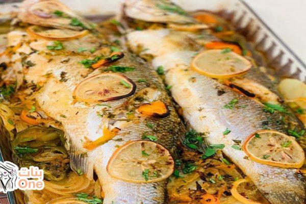 طريقة عمل صينية سمك ماكريل