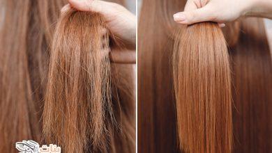 طرق تنعيم الشعر بالخطوات