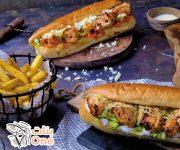 طريقة عمل ساندويش الشيش طاووق