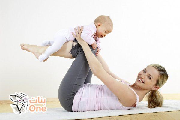 طرق تخسيس ترهلات البطن بعد الولاده