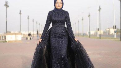 أجمل فستان سواريه اسود موضة 2020