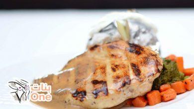 كيفية عمل ستيك الدجاج مثل المطاعم