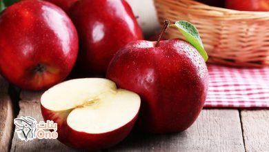 فوائد التفاح الصحية والقيمة الغذائية به