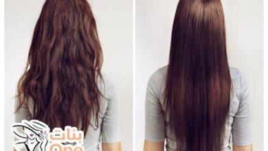 طرق تمليس الشعر المجعد طبيعياً