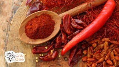 فوائد الشطة الحمراء المتعددة للجسم