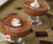 طريقة عمل حلى موس الشوكولاتة
