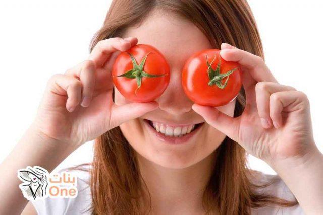 فوائد ماسك الطماطم على صحة البشرة