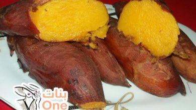 كيف تطبخ البطاطا الحلوة في الميكرووويف