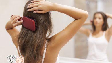 كيفية تمشيط الشعر بسهولة