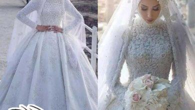 فساتين محجبات أفراح لعروسة متألقة في 2021