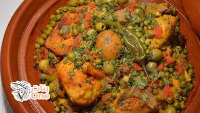 طريقة تحضير الطاجين المغربي باللحم