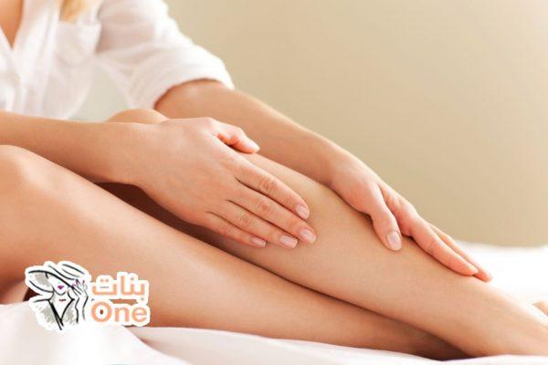 كيف أزيل مسامات الساق الواسعة