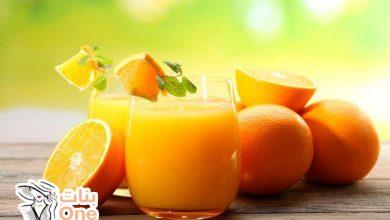 كيفية حفظ عصير البرتقال
