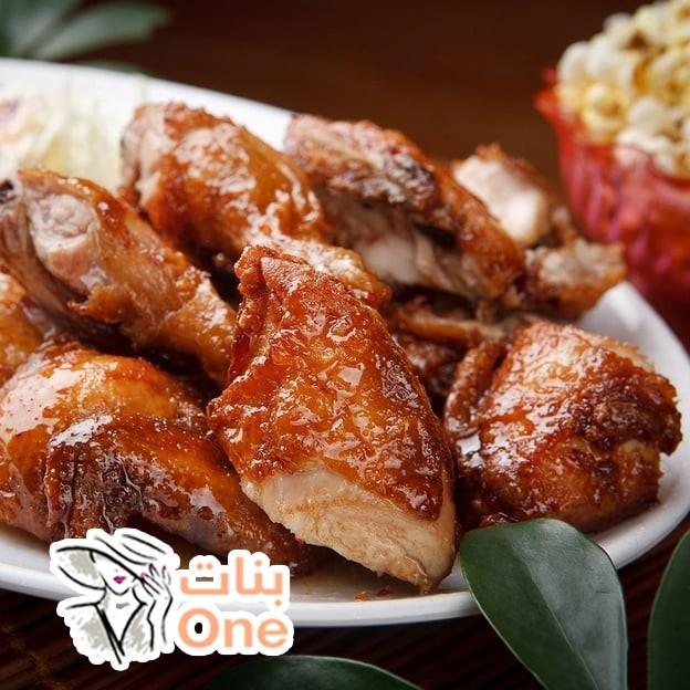طريقة عمل ثريد الدجاج