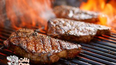 طريقة عمل ستيك اللحم المشوي على الفحم
